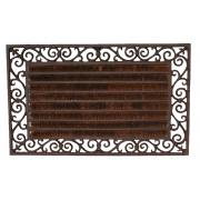 Doormat Rectangle W/Coir