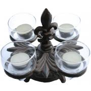 Tealight Stand with Glass